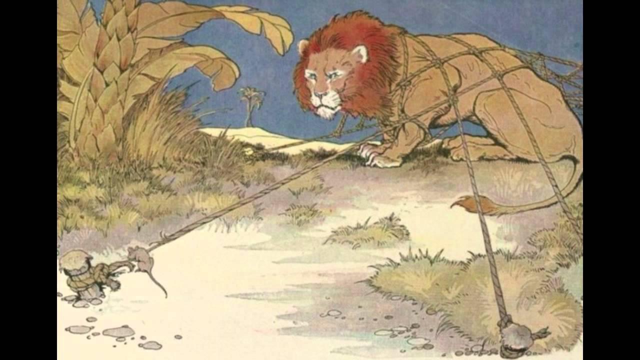 Favola di esopo il leone ed il topo riconoscente youtube