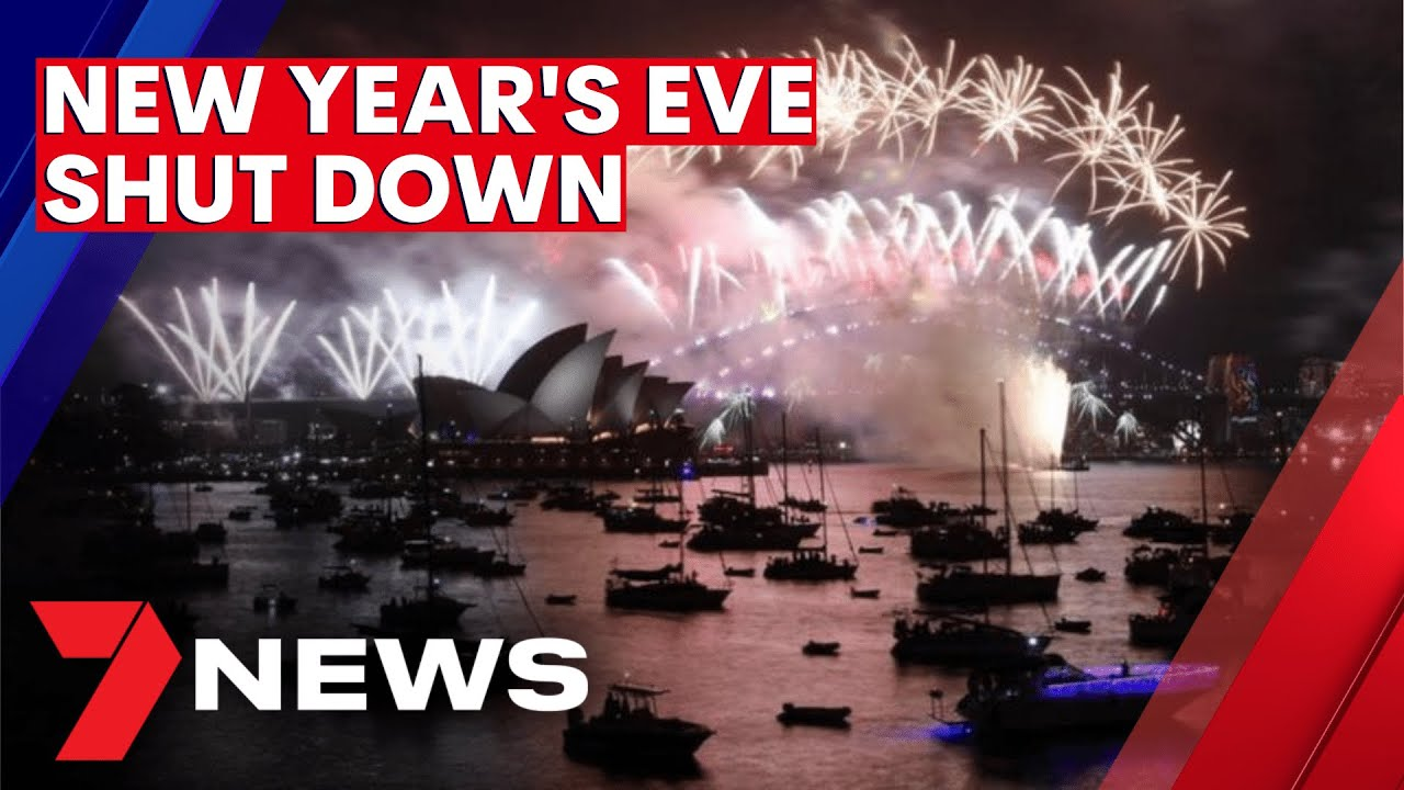 Sydney's New Year's Eve party shut down | 7NEWS