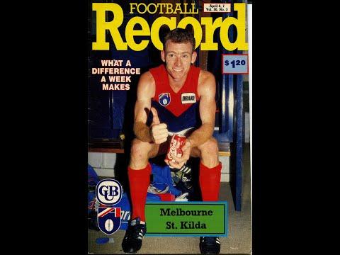 St Kilda vs Melbourne Rd 3 '1991(whole last 1/4)