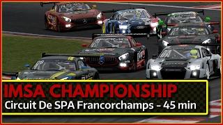 IMSA Championship @ SPA iRacing