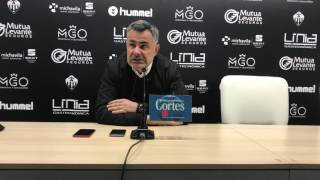 """Manu Calleja: """"El Alzira es muy buen equipo y será un gran partido"""""""