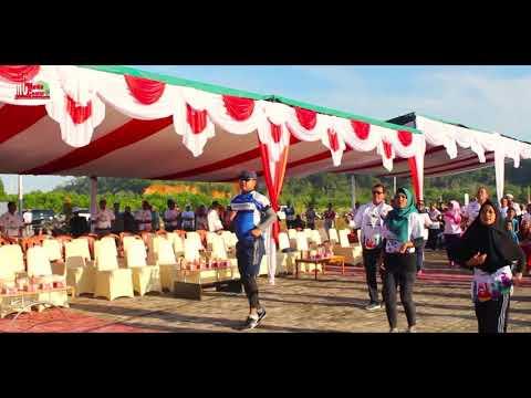 Senam Ayo Olahraga, Gowes Pesona Nusantara 2017, Etape Karimata.