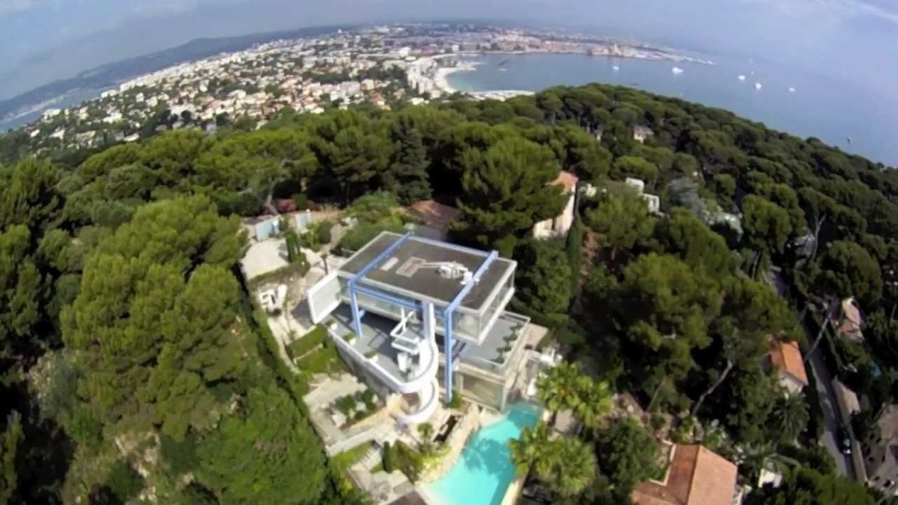 villa ex cap d 39 antibes youtube. Black Bedroom Furniture Sets. Home Design Ideas