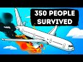 A Plane Suddenly Caught  Fire But Pilots Saved 350 People Miraculously