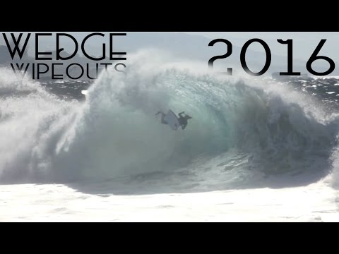 The Wedge Best Bodyboarding Wipeouts Compilation | 2016
