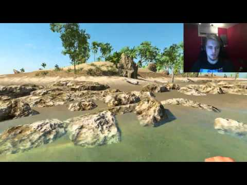 Cast Away Simulator With A Flying Raft - Stranded Deep