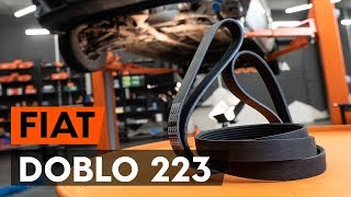 Τοποθέτησης Ιμάντας poly-V μόνοι σας οδηγίες βίντεο στο FIAT DOBLO