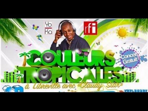 Couleurs Tropicales en public à Libreville