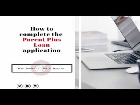 Parent Plus Loan Application Process