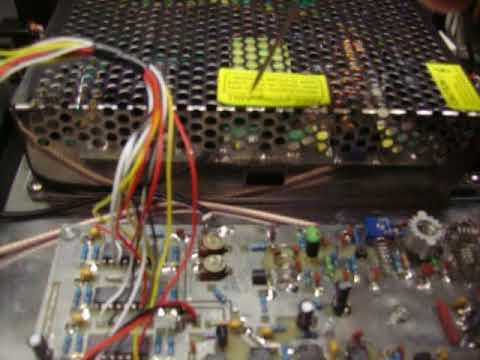EXCITER FM 150 WATT ,MADE BY HARRYS GREECE , SN : 1508 TEST