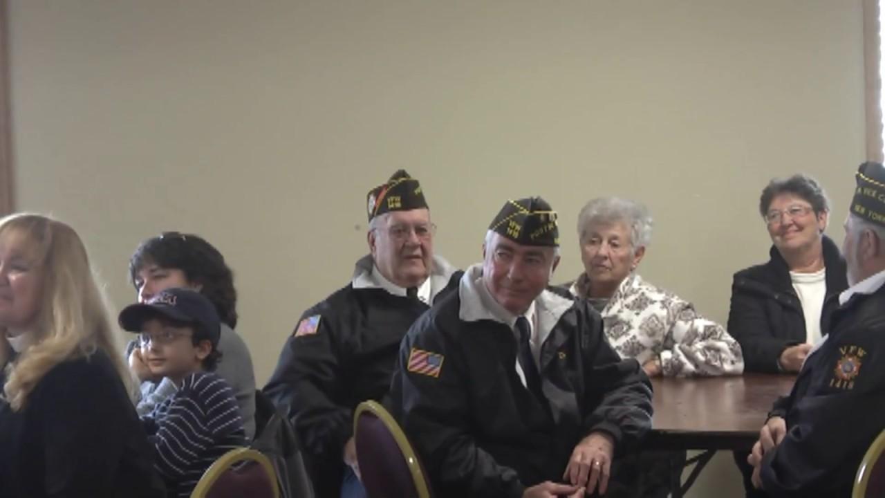 Legion 912 Veterans Day  11-11-12