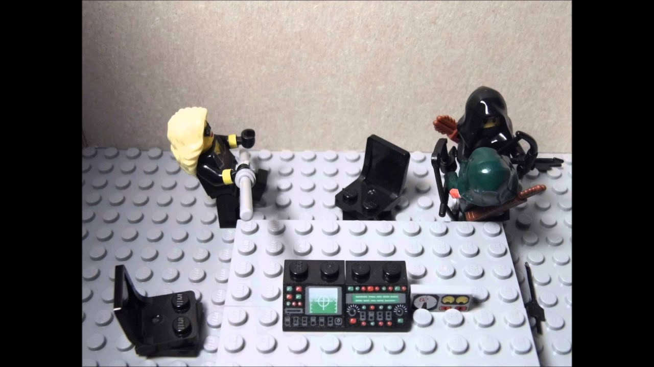 LEGO ARROW VS T... Green Arrow Dark Archer
