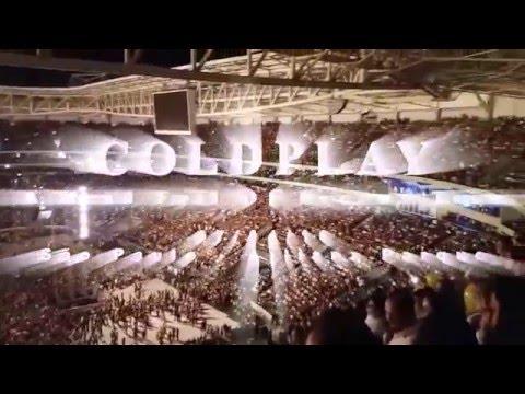 Show do Coldplay em São Paulo 07/04/16 - Estádio Allianz Parque