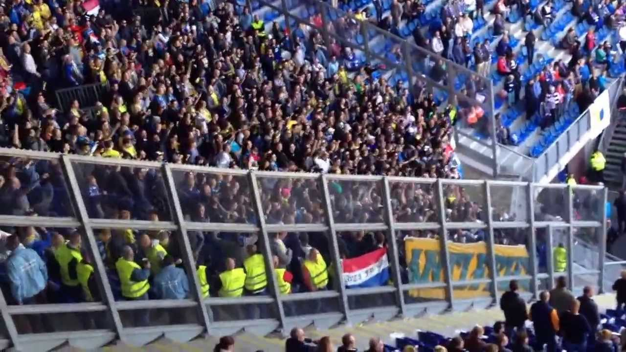 Cambuur Fans Going Crazy On Tsunami Youtube