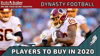 Players to Buy in Dynasty Football NOW for 2020!