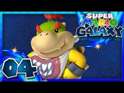 Super Mario Galaxy - Part 4 - Bowser Jr.'s Robot Reactor! (1080p 60FPS)