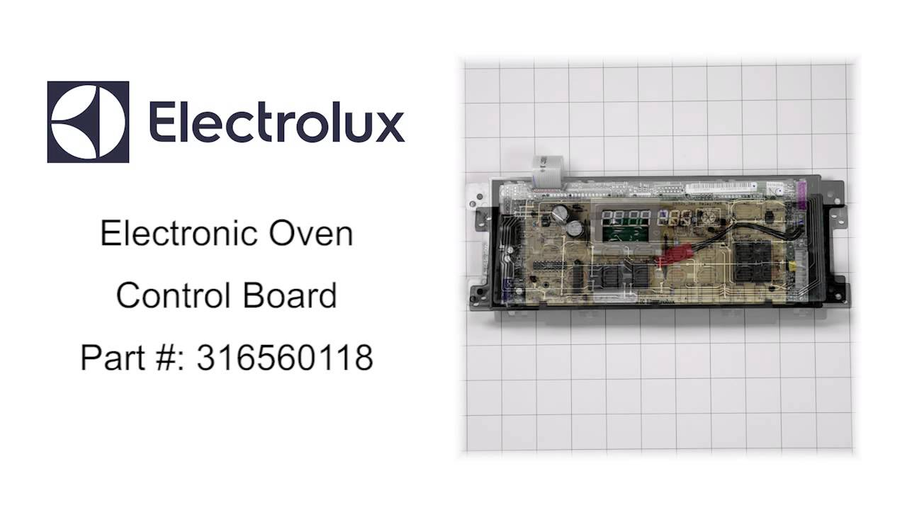 Electrolux Electronic Oven Control Board Part 316560118