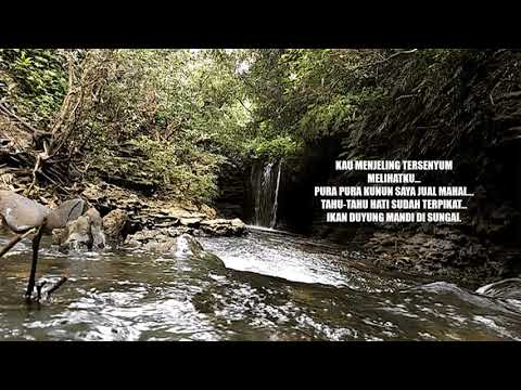 Si Duyung mandi di sungai-Alister Leonard created by ven