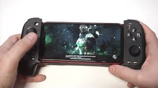 Mortal Kombat X Mobile Controller Gameplay