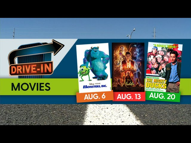 See Free Drive-In Movies in Plymouth starting Aug. 6
