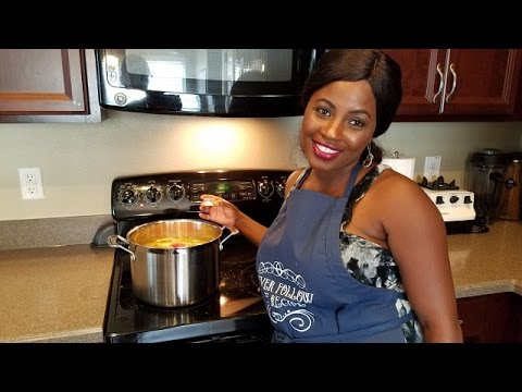How to make the famous Ghana Peanut Butter Soup!