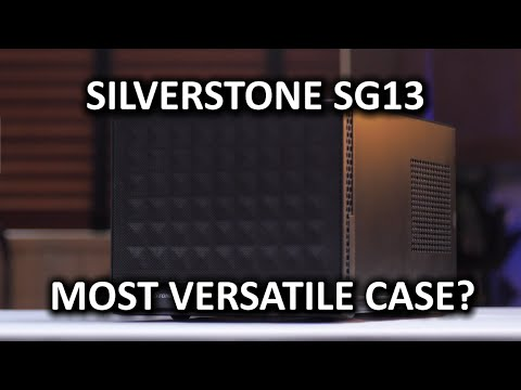 Download SilverStone SG13 Computer Case - Small form factor with extreme versatility