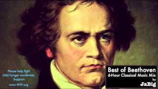 6 Hour of The Best Beethoven -  Classical Music Piano Studying Concentration Playlist Mix by JaBig(JaBig on Facebook: http://www.facebook.com/JaBig - JaBig on Instagram: http://instagram.com/JaBig (@JaBig) - JaBig on SoundCloud: ..., 2012-10-30T19:33:26.000Z)