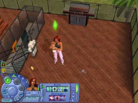Cannibalism In The Sims 2 Grilling A Baby Youtube