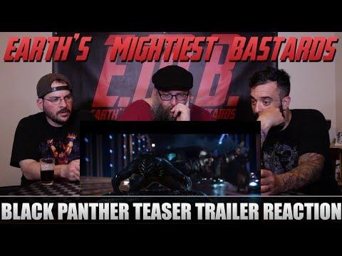 Trailer Reaction: Black Panther Teaser Trailer