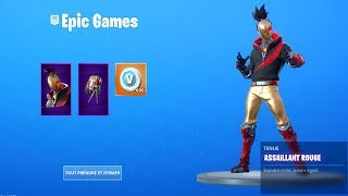 THE NEW PACK RED ASSAILANT on FORTNITE..