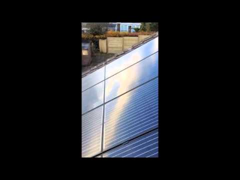Solartech Installations - Concrete Tiled Roof