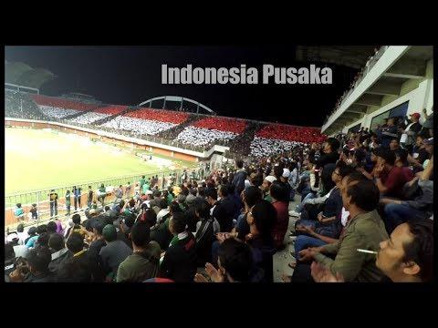 INDONESIA PUSAKA Dan KOREO MERAH PUTIH Oleh BRIGATA CURVA SUD