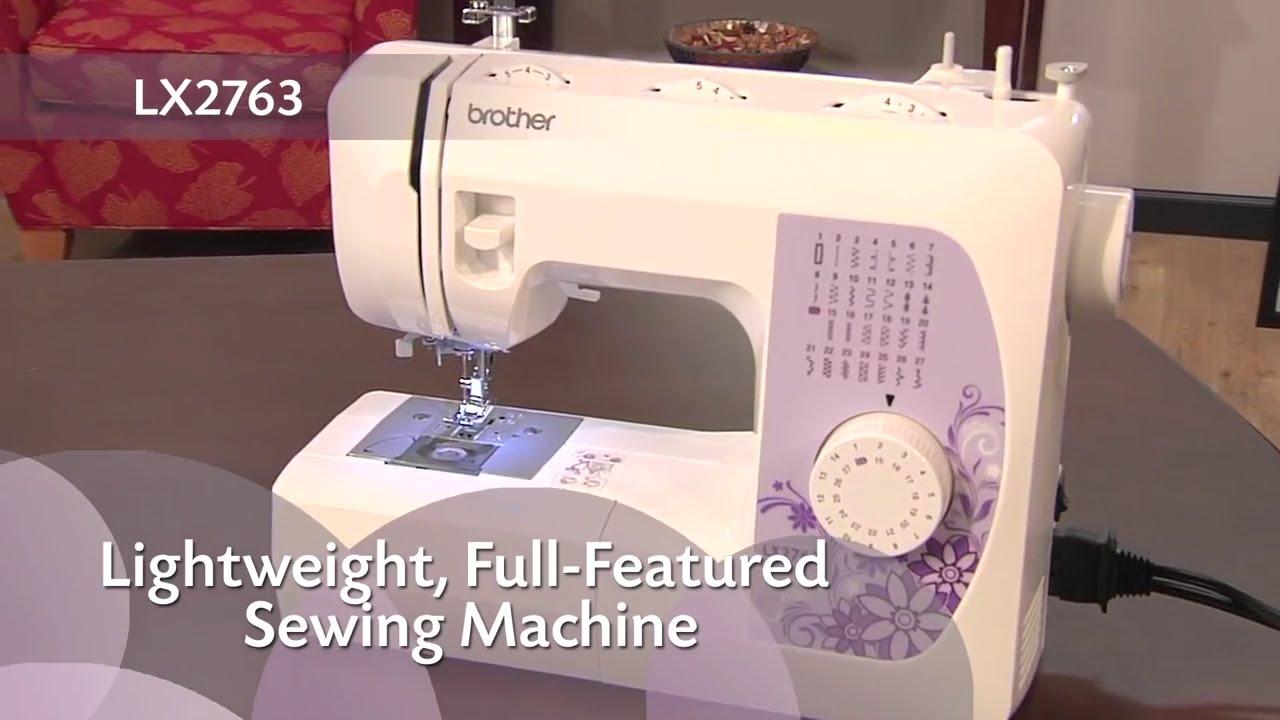 lx2763 sewing machine