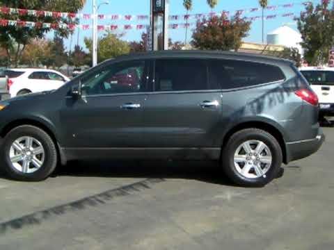 Gray Daniels Chevy >> 2010 Chevrolet Traverse FWD 2LT Cyber Gray Metallic-Richard's Chevrolet, Corcoran, CA - YouTube