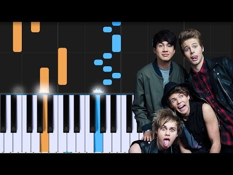 "5 Seconds Of Summer - ""Babylon"" Piano Tutorial - Chords - How To Play - Cover"