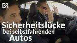 Autonomes Fahren - Farbfleck stört selbstfahrende Autos | Gut zu wissen | BR