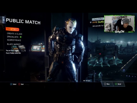 CALL OF DUTY BLACK OPS 3 FUN W/DOOM LUCKYGIRL #1 LEADERBOARD PLAYER IN THE WORLD!!!