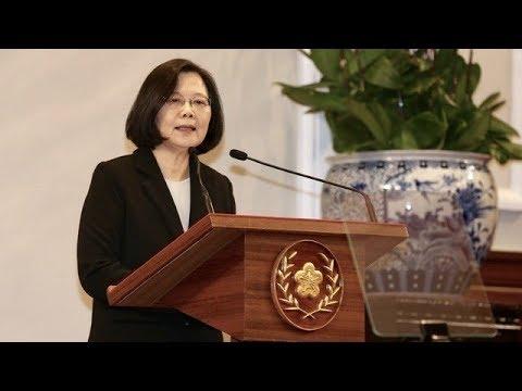 20190102總統蔡英文回應中共《告台灣同胞書》