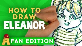 How-To-Draw Eleanor Fan Edition | Alvin and the Chipmunks