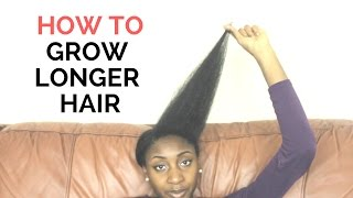 How to ACTUALLY make 4C hair grow