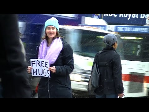 Free Hugs / Hacking the Matrix in Toronto