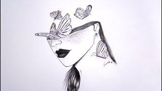 #تعليم الرسم سلسلة الرسوم التعبيرية 53 learn drawing Expressive drawings Series#