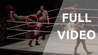 That Kick Ended WWE Paige Career