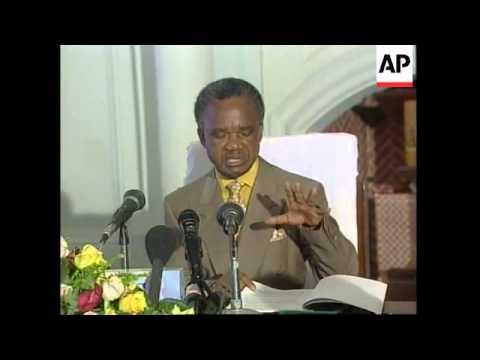 ZAMBIA/CONGO: CONGO PEACE DEAL LATEST