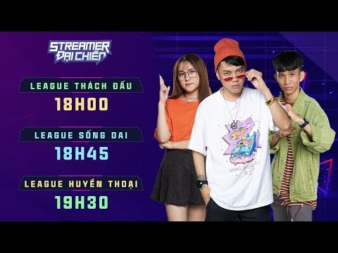 Chung Kết Streamers đại Chiến | As Mobile, Gao Bạc, Cô Ngân TV, Hải Đăng Gamer, HUNGAKIRA  Lão Gió