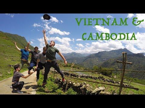 VIETNAM & CAMBODIA 2017 - Travel Video - GoPro & Xiaomi Yi