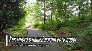 Как много в нашей жизни есть дорог. Поэзия Натальи Марьян