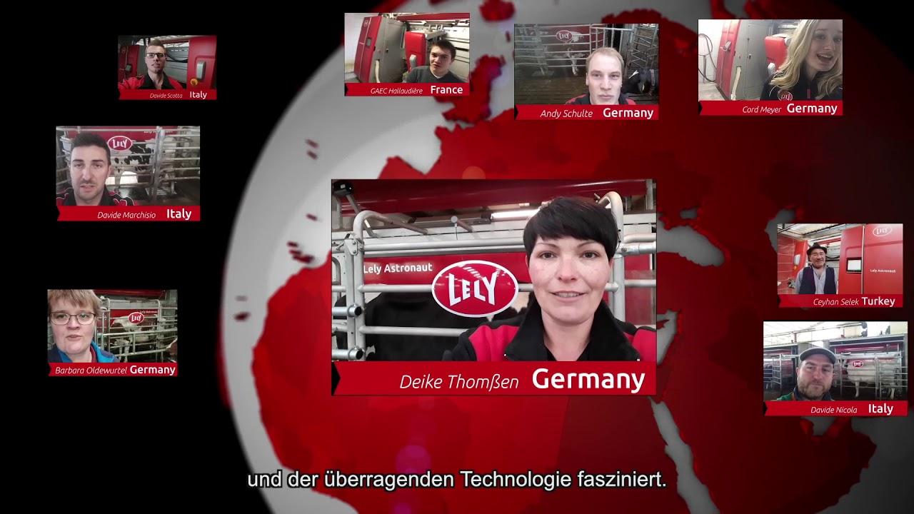 Lely Astronaut A5 – Ein Jahr Erfahrungen – video 7 (DE)