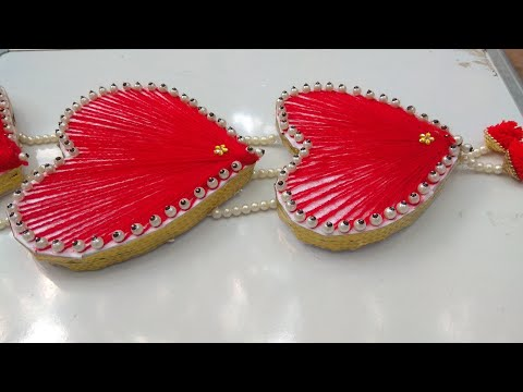 DIY| heart design wall hanging |Love craft