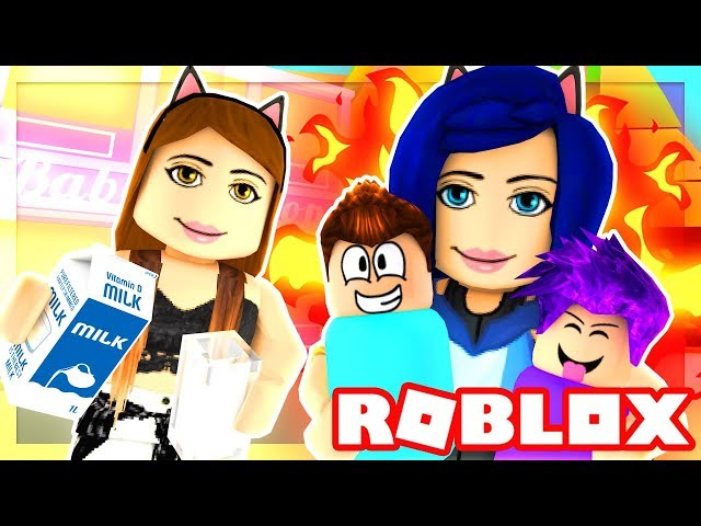 ADOPTING MY FIRST BABY! BAD MOM VS. BAD BABY!! (Roblox Roleplay)